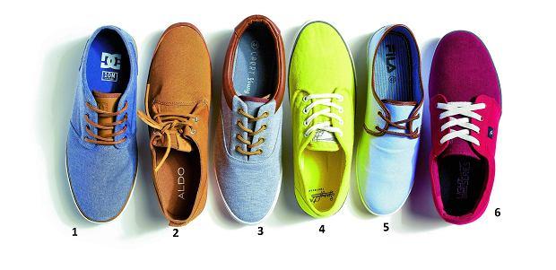 Lekka stopa w tenisówce, buty