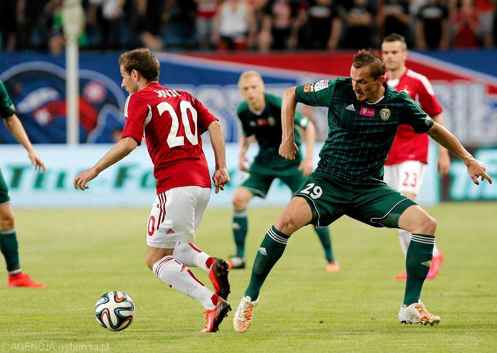 Peter Grajciar (po prawej) może zostać w Śląsku na kolejny sezon