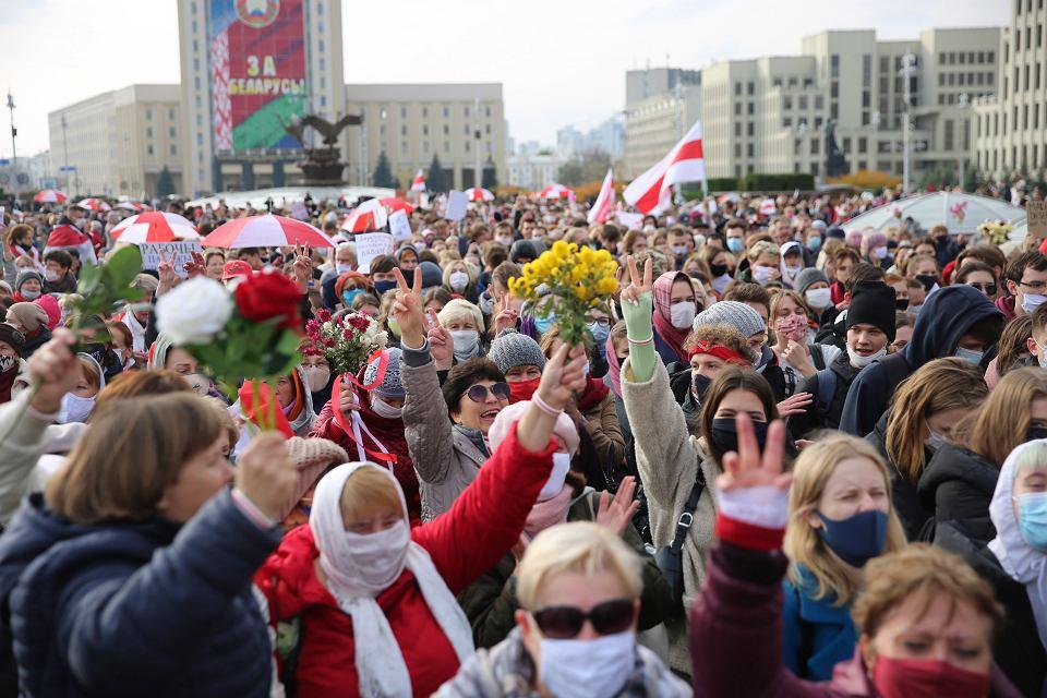 Demonstracja w Mińsku, 26 października 2020 r.