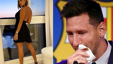 Luana Sandien i Leo Messi