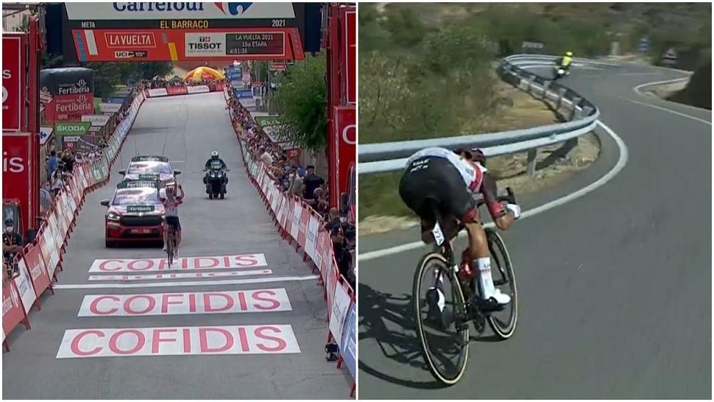 Rafał Majka wygrał 15. etap wyścigu Vuelta a Espana