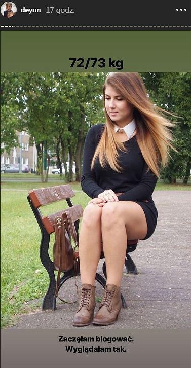 Deynn pokazała zdjęcie z początków blogowania