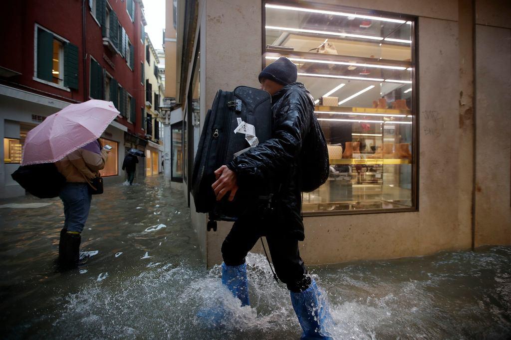 Wenecji zagraża kolejne zalanie