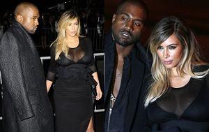 Kim Kardashian i Kanye West w Paryżu
