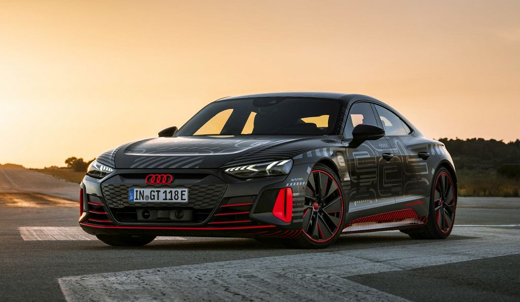 Prototyp Audi RS e-tron GT