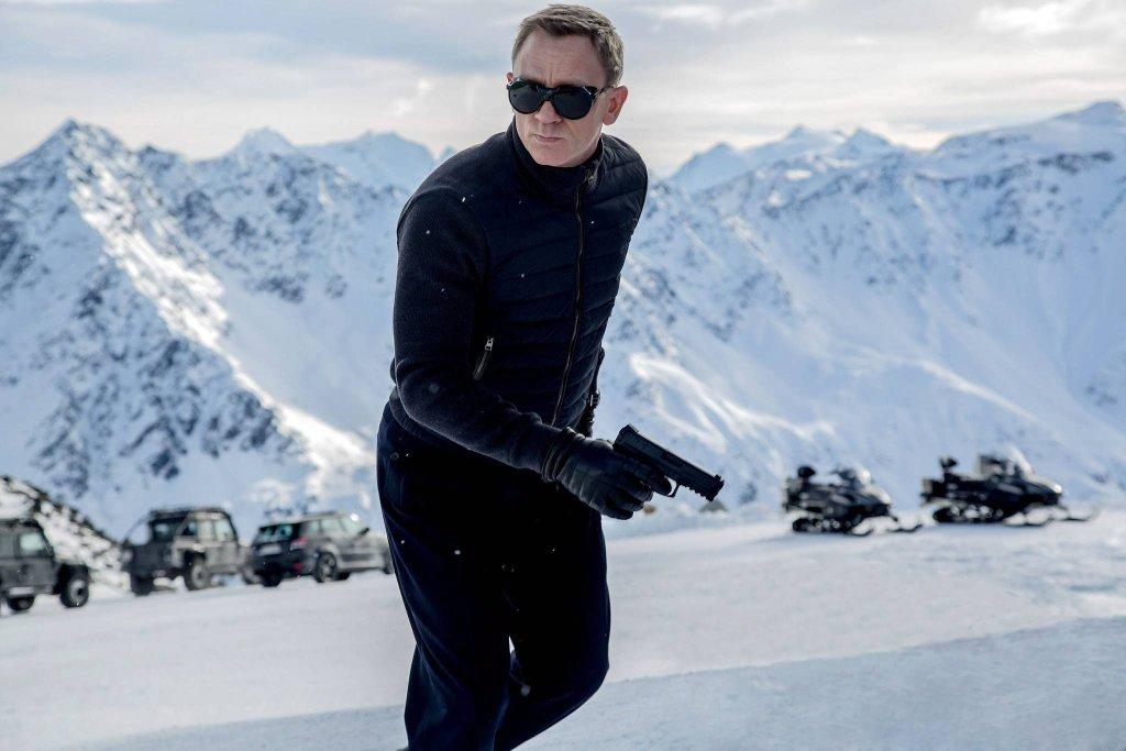 Daniel Craig jako James Bond w