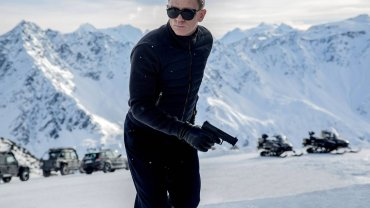 "Daniel Craig  jako James Bond w ""Spectre"""