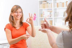 Niesłyszące randki międzynarodowe