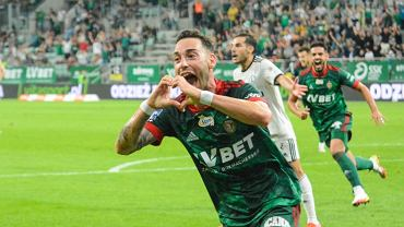 Śląsk - Legia 1:0. Victor Garcia w euforii po strzelonej bramce