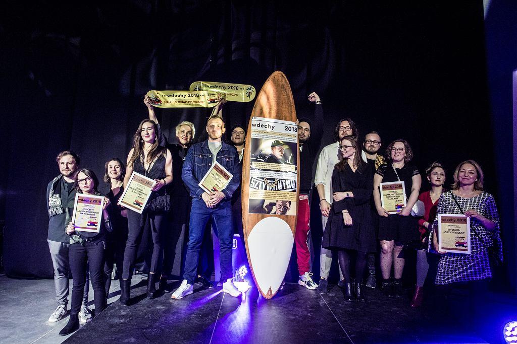 Wdechy 2018. Nominowani w kategorii Wydarzenie Roku / fot. Adam Stępień/AG