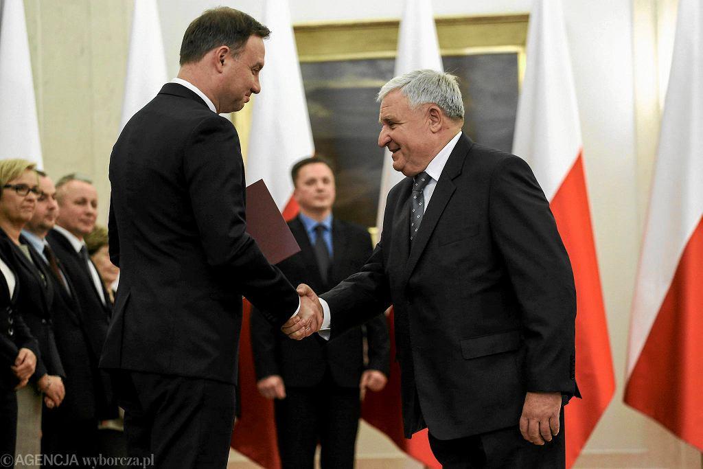 Powołanie Kazimierza Kujdy do Narodowej Rady Rozwoju, 16 października 2015 r.