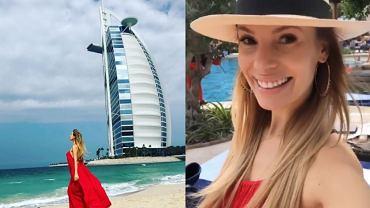 Izabela Janachowska na wakacjach w Dubaju