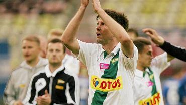 Grzegorz Rasiak w barwach Lechii Gdańsk