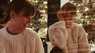 Anna Lewandowska już poczuła święta i ubrała z Klarą choinkę. Na zdjęciu widać też salon. Jest bardzo stylowy