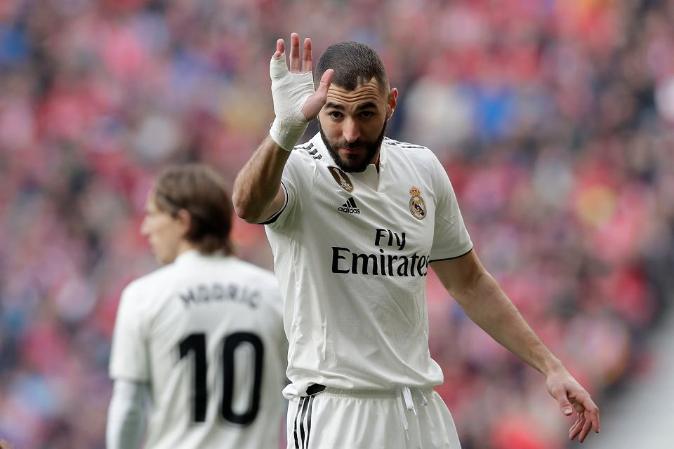 Napastnik Realu Madryt Karim Benzema