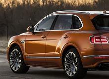 Bentley Bentayga Speed - oto nowy najszybszy SUV świata. Pojedzie aż 305 km/h
