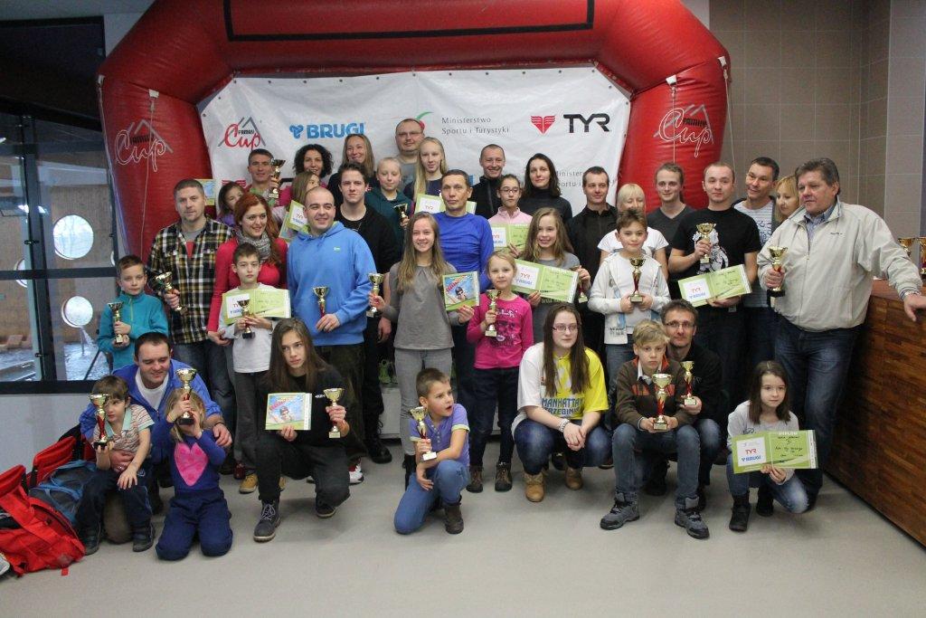 Zawody Family Cup 2014 na pływalni Wodna Nuta w Opolu