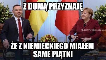Angela Merkel przyjechała do Polski