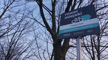 nowa stacja roweru miejskiego przy ul. Połabskiej