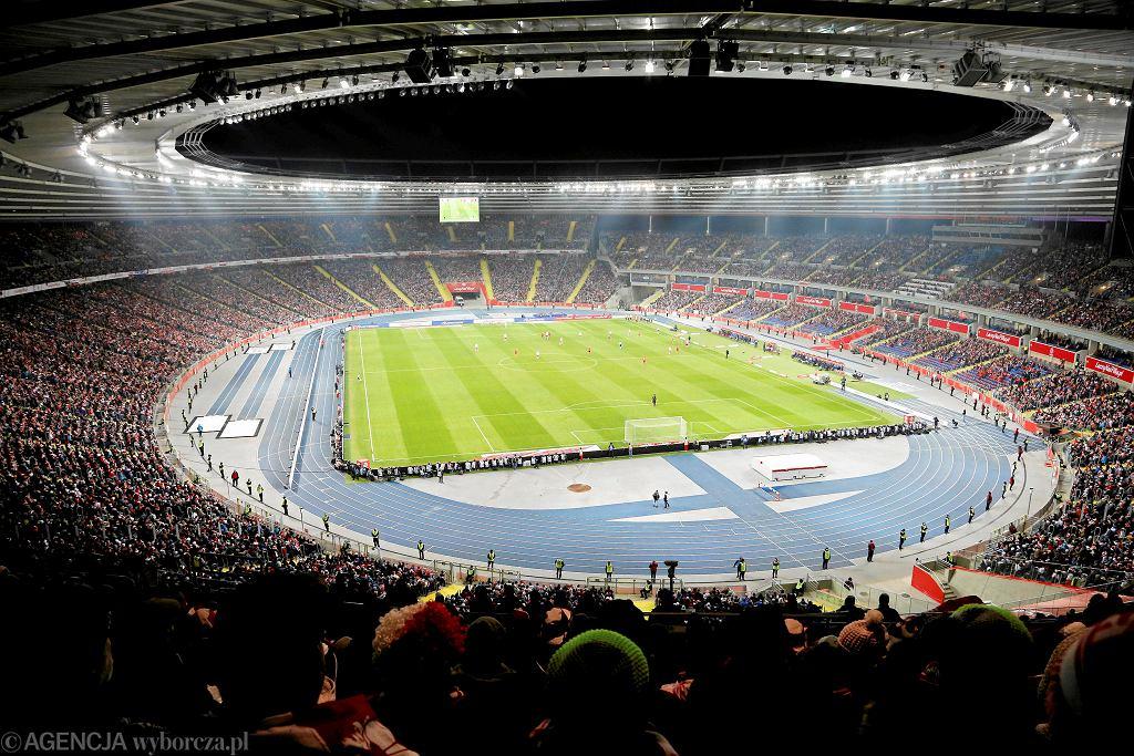 Stadion Śląski podczas meczu Polska - Korea Płd