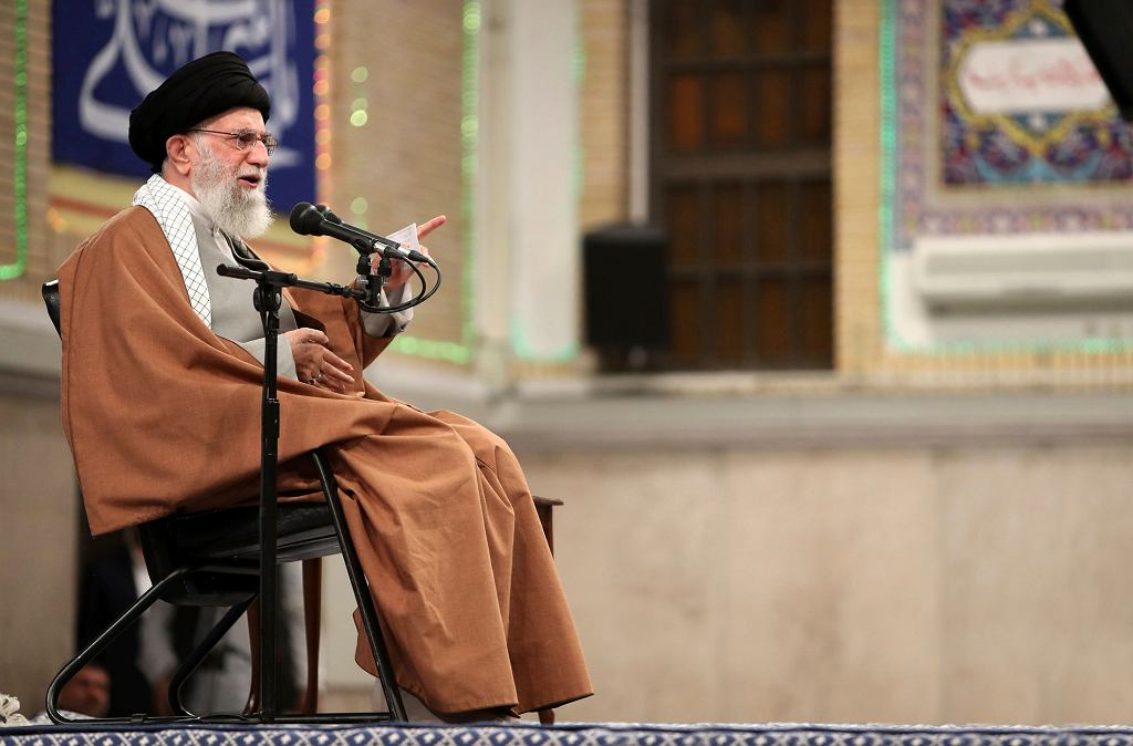 Iran. Ali Chamenei, najwyższy przywódca duchowy kraju.