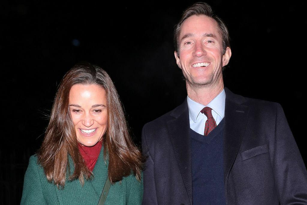 Pippa Middleton z mężem