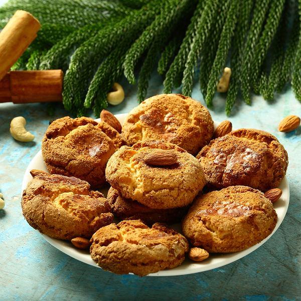 Wegańskie ciasteczka z migdałami