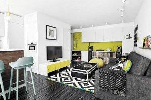 Małe mieszkanie didżeja: gra muzyka!