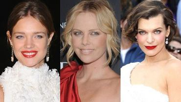 Vodianova, Theron, Jovovich.
