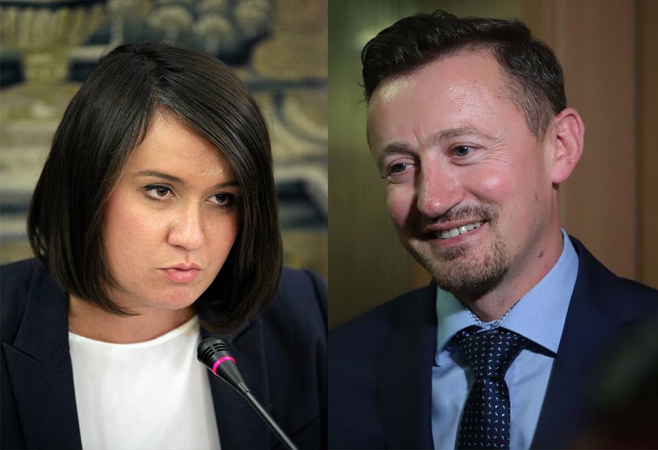 Anna Maria Siarkowska i Adam Małysz