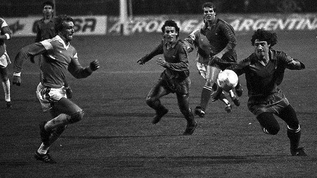 Mecz Lech Poznań - FC Barcelona w 1988 roku