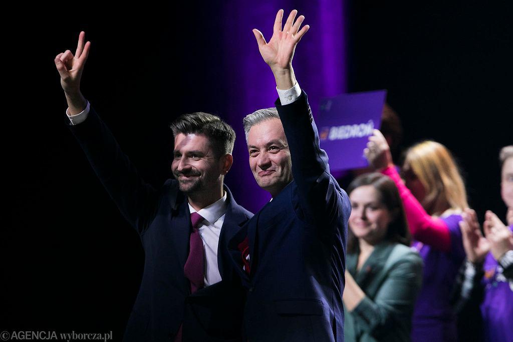Wybory do europarlamentu 2019. Krzysztof Śmiszek i Robert Biedroń