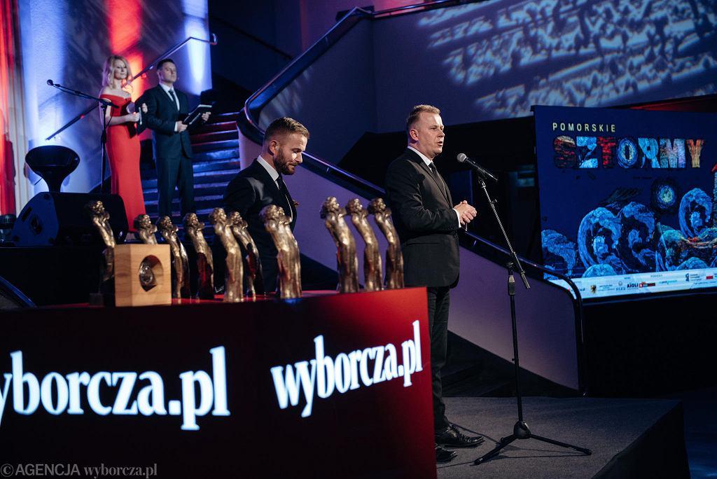 Pomorskie Sztormy 2018. Na zdj. Grzegorz  Kubicki, Ryszard Świlski