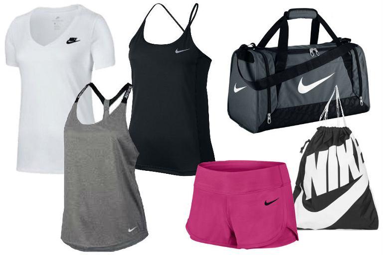 Kolaż / Ubrania marki Nike w niskich cenach / Materiały partnera