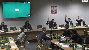 Posiedzenie sejmowej komisji ds. sprawiedliwości  i praw człowieka