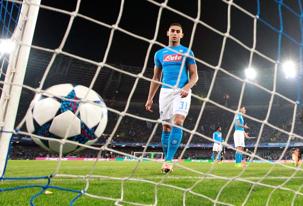 SSC Napoli po golu Sergio Ramosa