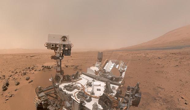Selfie łazika na Marsie