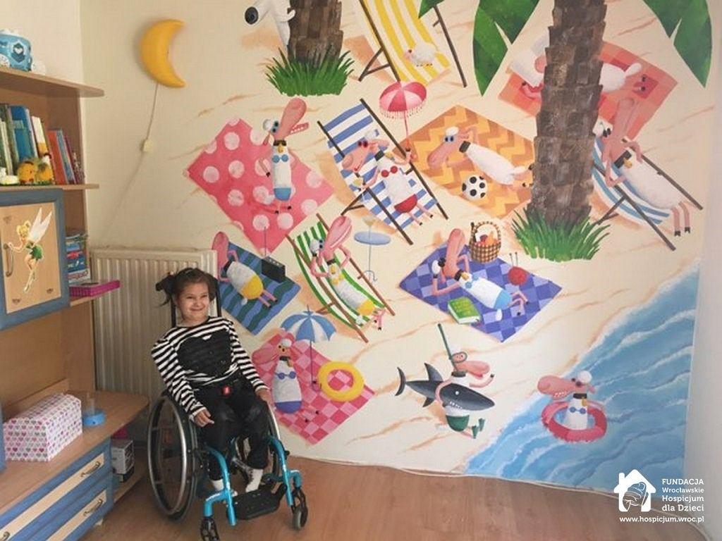 Laura, podopieczna Wrocławskiego Hospicjum dla Dzieci
