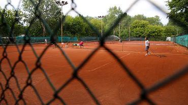 Kort tenisowy w Warszawie