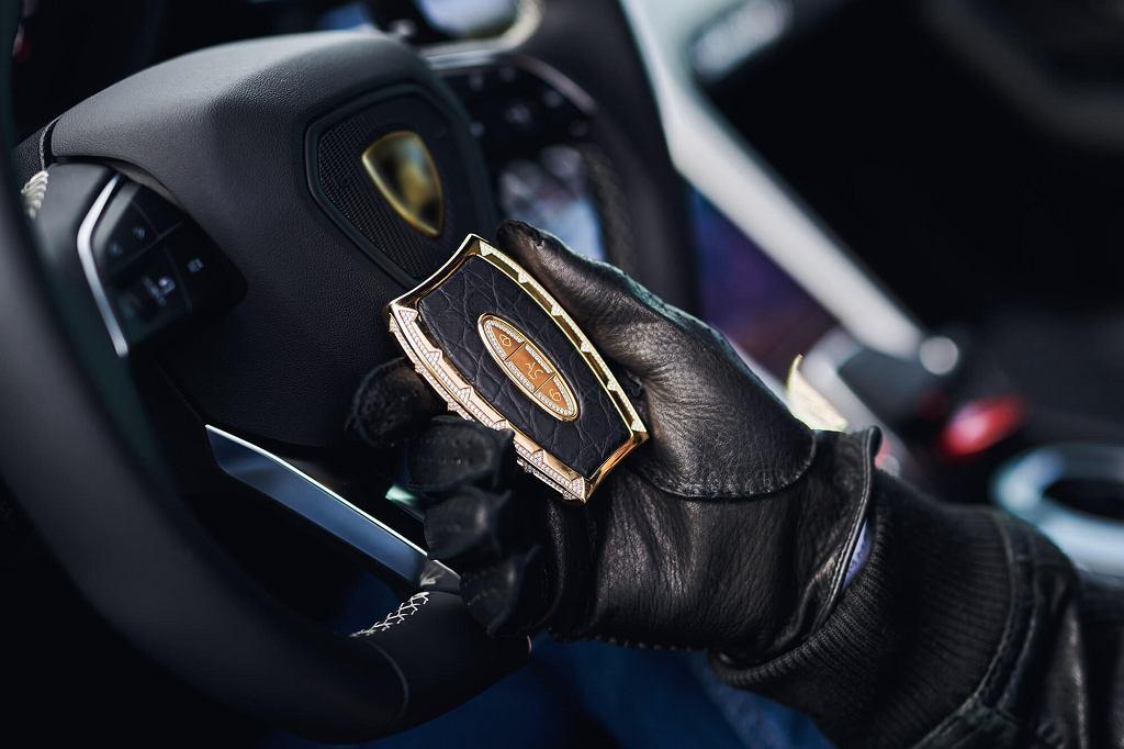 Awain Key - luksusowe kluczyki samochodowe wysadzane diamentami