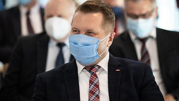 Przemysław Czarnek podczas otwarcia Stomatologicznego Centrum Klinicznego Uniwersytetu Medycznego. Lublin, 22 września 2020