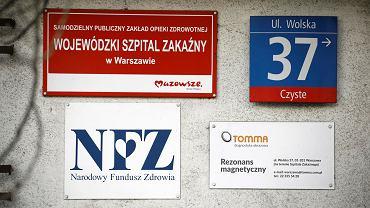 Szpital Zakaźny przy ul. Wolskiej w Warszawie. Tu zgłaszają się pacjenci chcący wykonać test na koronawirusa