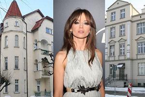 Anna Przybylska, domy gwiazd