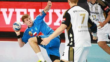 Ivan Milas w meczu Ligi Mistrzów, Orlen Wisła Płock - THW Kiel 33:34 (14:14)