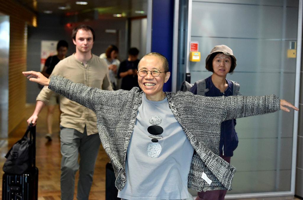 Liu Xia, artystka i wdowa po chińskim laureacie Pokojowej Nagrody Nobla Liu Xiaobo / Fot.