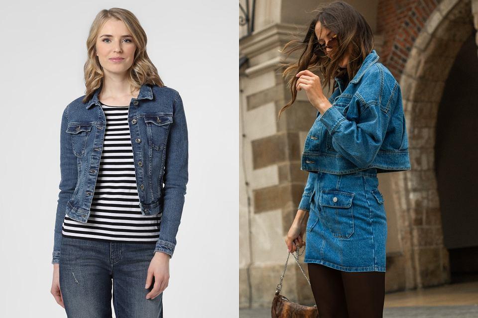 jeansowe ubrania - kurtka