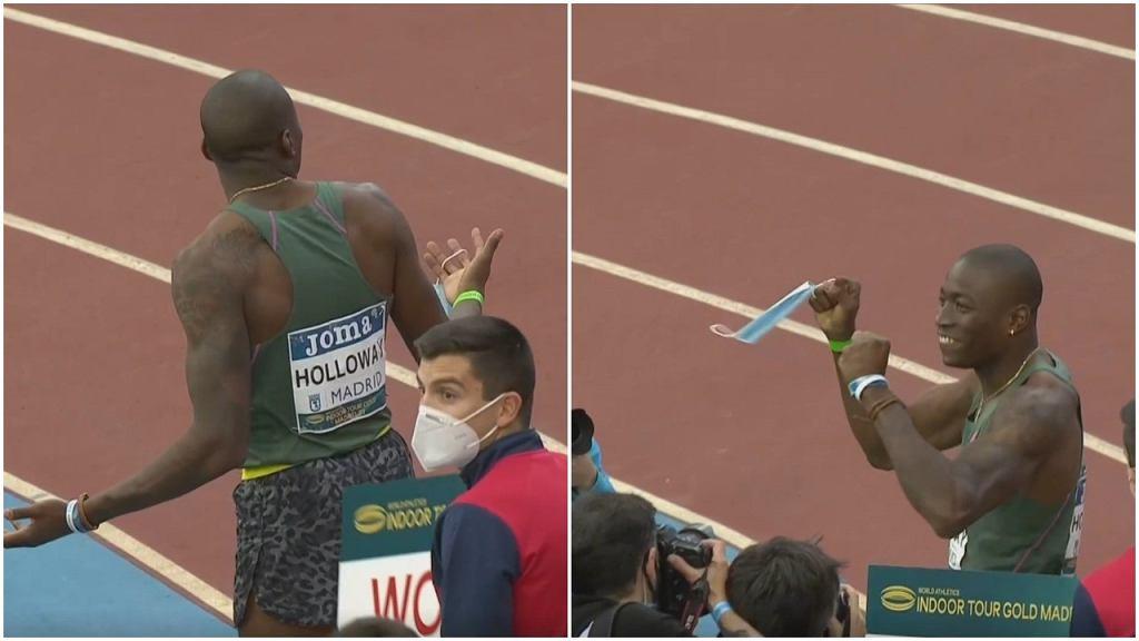 Zdezorientowanie i radość po rekordzie świata Granta Hollowaya w Madrycie