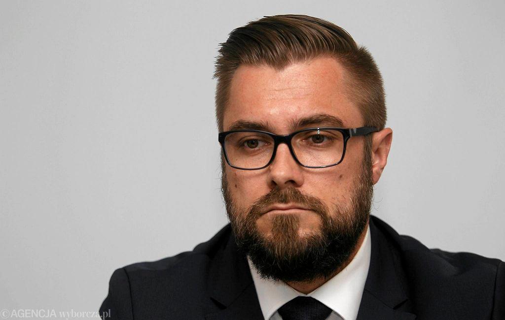 Grzegorz Bednarski, prezes GKS-u Tychy