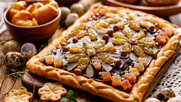 IMazurek,Pastry,,Traditional,Polish,Easter,Cake,Made,Of,Shortcrust,Pastry,