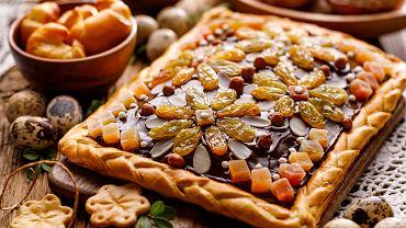 IMazurek,Pastry,,Traditional,Polish,Easter,Cake,Made,Of,Shortcrust,Pastry,